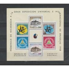 1958 NICARAGUA  EXPO...