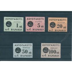 1949  FINLANDIA  PACCHI...