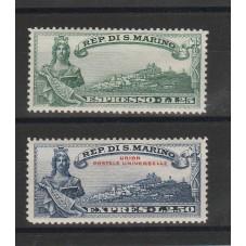 1929 SAN MARINO ESPRESSI...