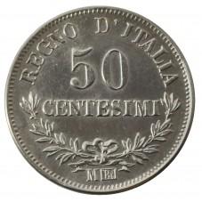 1863 REGNO D'ITALIA MONETA...