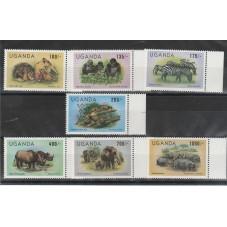 UGANDA  1983  FAUNA...