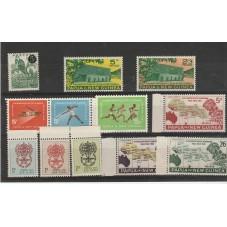 PAPUA  NEW GUINEA 1959-62...