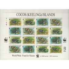COCOS KEELING ISLANDS 1992...