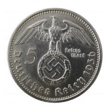 1936 GERMANIA 5 MARCHI...