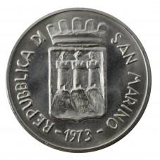 1973 SAN MARINO MONETA LIRE...