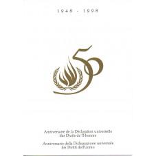 1998 FOLDER 50 ANNIVERSARIO...