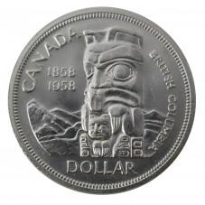 1958 CANADA DOLLAR BRITISH...
