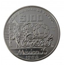 1985 MEXICO MESSICO 100 $...