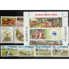 1984 CHRISTMAS  ISLAND...
