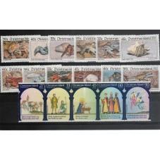 1985 CHRISTMAS  ISLAND...