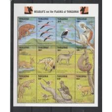 TANZANIA 1993 FAUNA ANIMALI...