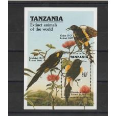 TANZANIA 1990 FAUNA ANIMALI...