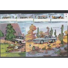 SIERRA LEONE  1989 DISNEY -...