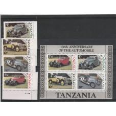 TANZANIA 1986 CENTENARIO...