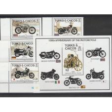 TURKS AND CAICOS 1985  MOTO...
