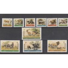 TANZANIA 1980 FAUNA ANIMALI...