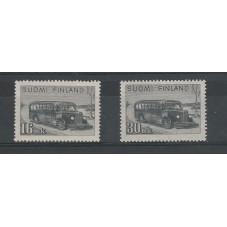 1946 FINLANDIA  AUTOBUS  2...