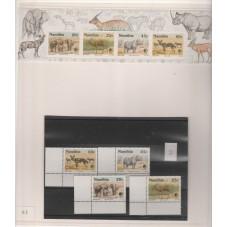 NAMIBIA 1993 FAUNA ANIMALI...