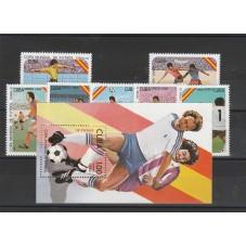 1982 CUBA SERIE CALCIO 7...