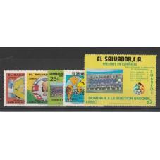 EL SALVADOR 1982 CALCIO...