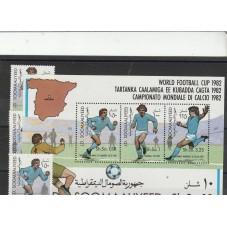1982 SOMALIA CALCIO SPAGNA...