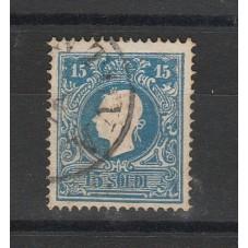 LOMBARDO VENETO 1858  15...