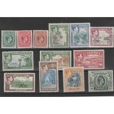 JAMAICA 1938 GEORGE VI 13...