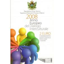 2008 SAN MARINO 2 EURO...