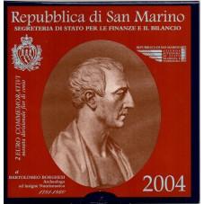 2004 SAN MARINO 2 EURO...
