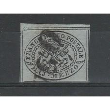 1852 STATO PONTIFICIO 1/2...