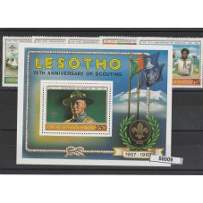 1982 LESOTHO 75 SCOUTING  5...