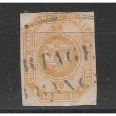 COLOMBIA 1859   STEMMA  N D...