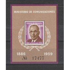 COLOMBIA 1961 ALFONSO LOPEZ...