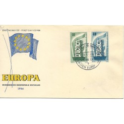 1956 GERMANIA GERMANY  FDC...