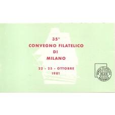 1981 REPUBBLICA ITALIANA...