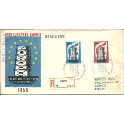 1956  OLANDA NEDERLAND  FDC...