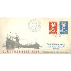 1958  OLANDA NEDERLAND FDC...