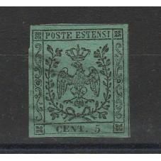 DUCATO DI MODENA 1852...