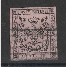 1852 DUCATO DI MODENA - 10...