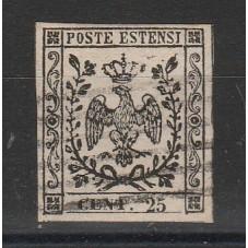 1852 DUCATO DI MODENA - 25...