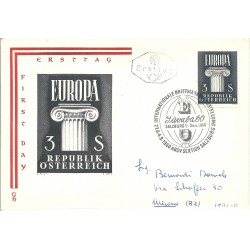 1960  AUSTRIA OSTEREICH FDC...