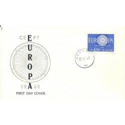 1960  GRECIA  GREECE FDC...