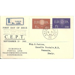 1960 IRLANDA EIRE  FDC...