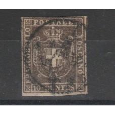 1860 TOSCANA 10 CENT BRUNO...