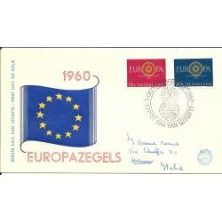 1960 OLANDA NEDERLAND  FDC...