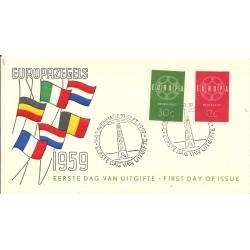 1959  OLANDA NEDERLAND  FDC...