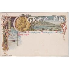 1899 CARTOLINA CENTENARIO...
