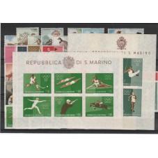 1960 SAN MARINO ANNATA  47...