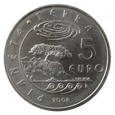 2008 SAN MARINO 5 EURO...