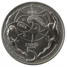 2007 SAN MARINO 5 EURO PARI...